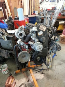 Engine with Turbo